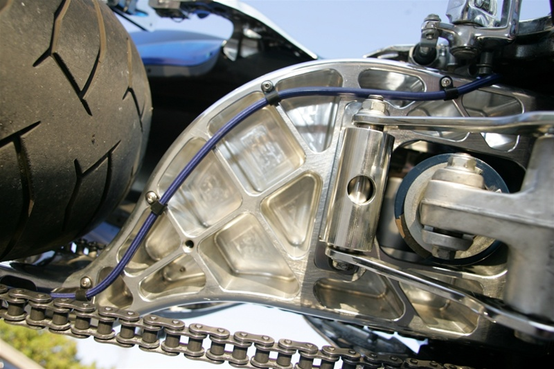 Suzuki Gsxr And Hayabusa Billet Single Sided Swingarm 240