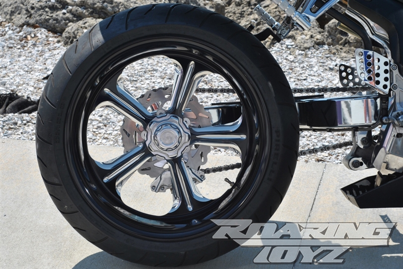 Hondas For Sale >> 240 Wide Tire Single Sided Swingarm Conversion Kit For ...