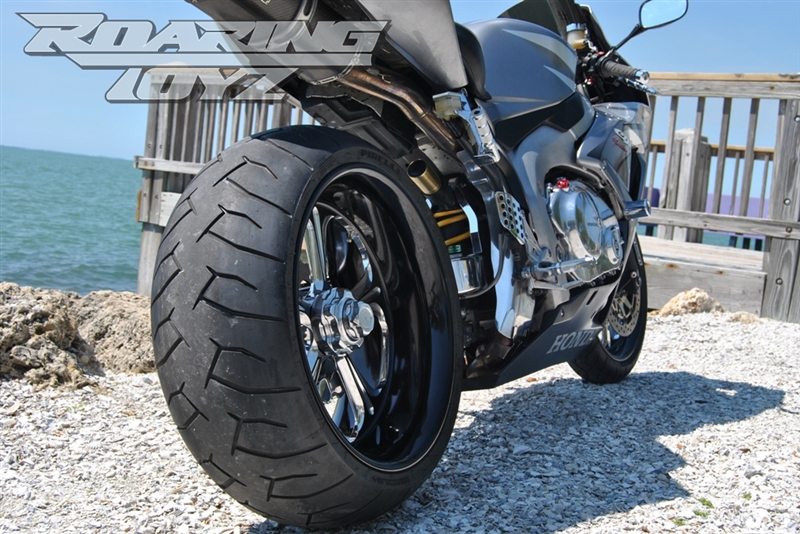 240 Wide Tire Single Sided Swingarm Conversion Kit For