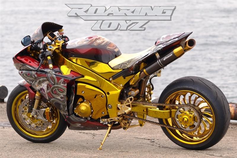 Yamaha R Extended Swingarm Kit