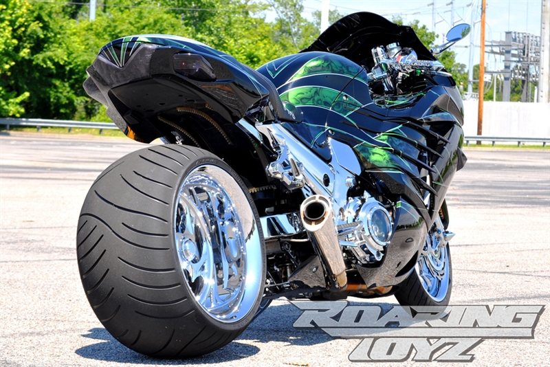 Roaring Toyz Billet 330 Single Sided Swingarm Wide Tire