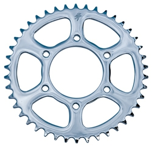 45 Tooth R.C. Components Steel Chrome 530 Rear Sprocket