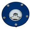 Suzuki 3 Hole Gas Cap Blue Anodized