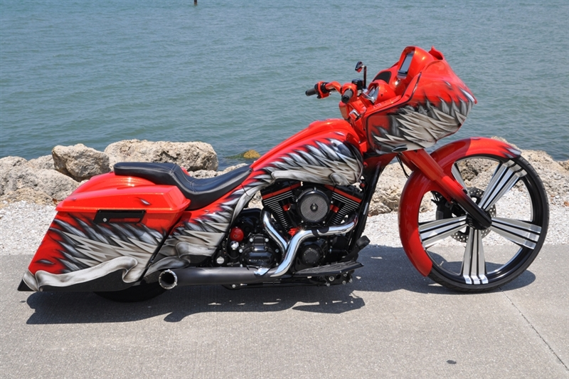 "Honda Fury For Sale >> Bagger 26"" Front Wheel Conversion Kit Raked Triple Trees ..."
