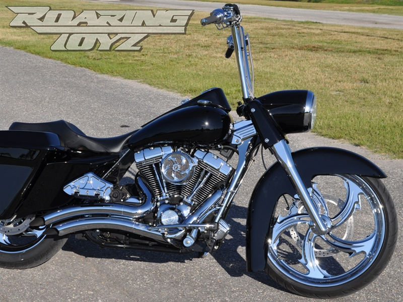 Stage One 1 Bagger 23 Quot Front Wheel Conversion Kit Raked