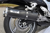 Roaring Toyz 2008-2013 Hayabusa Carbon Fiber Bolt On Exhaust