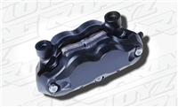 Forged Radial Mount Brake Caliper Black Anodized