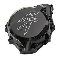 Hayabusa Stator Cover Black Contrast Cut With RT Kanji