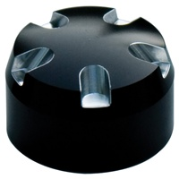 Fork Cap Set 24MM Black Anodized Contrast Cut