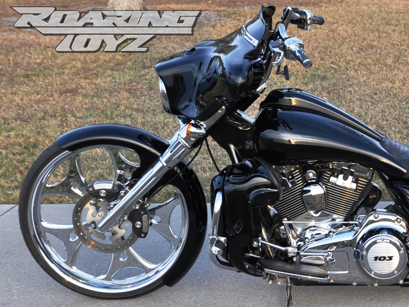Stage One 1 Bagger 26 Quot Front Wheel Conversion Kit Raked