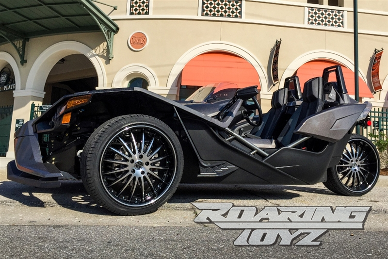 22 Inch Rim And Tire Package >> Custom Wheels for Polaris Slingshot 20 Inch Front 22 Inch