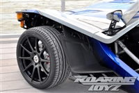 Custom Wheel Polaris Slingshot Performance Tire Package 19 Inch Wheels Style 16 Race Compound Tires Wide 325 Fat Rear Tire Ultimate traction base sl model 2015 SS Forged Black Machined 19x12 rear 19x9 front racing light weight forged widest