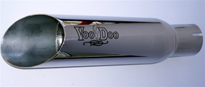 06-07 GSXR 600 750 VooDoo Polished Slip-On Exhaust