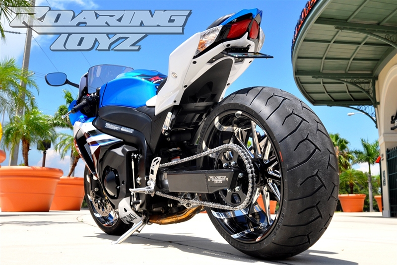 GSXR 1000 240 Wide Tire Swingarm Conversion Kit 2009 gsxr ...
