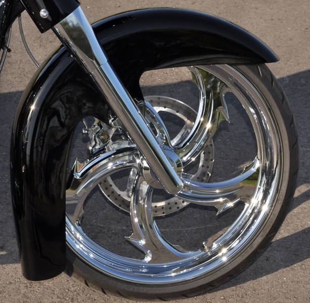 Classic Style 21 Quot Front Fender 21 Inch Front Wheel Conversion Harley Davidson Streetlide