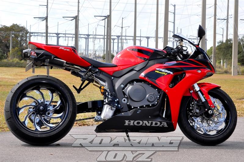 240 Wide Tire Single Sided Swingarm Conversion Kit For Hondas