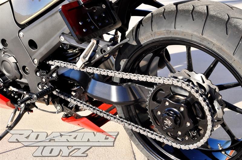 240 Wide Tire Single Sided Swingarm Conversion Kit For Kawasaki