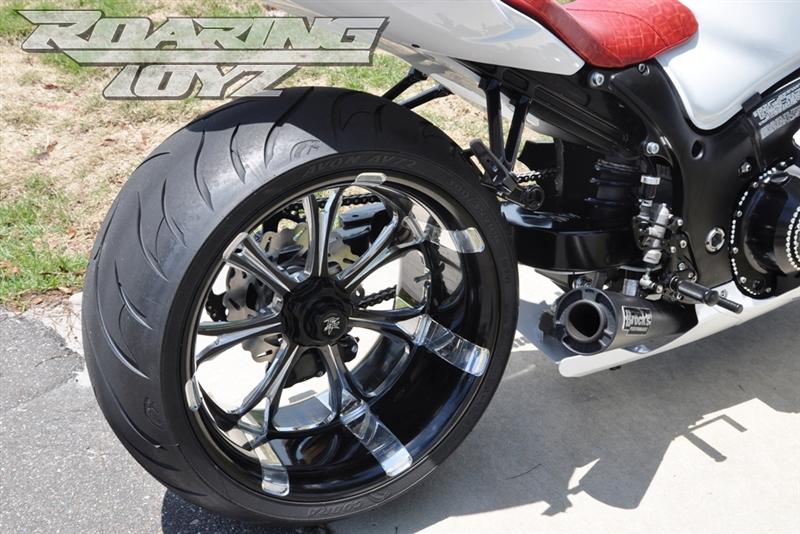Roaring Toyz Billet 300 Single Sided Swingarm Wide Tire Custom