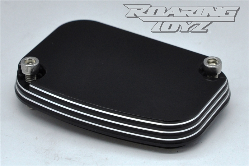 Brake Reservoir Covers : Billet cnc reservoir cap cover brembo brake master hd