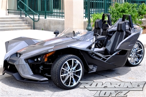 Cheap Used Tires Near Me >> Custom Chrome Wheels for Polaris Slingshot 20 Inch Front 22 Inch Rear Wide Fat Wheel tire 305 ...