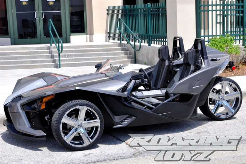 Custom Chrome Wheels For Polaris Slingshot 20 Inch Front