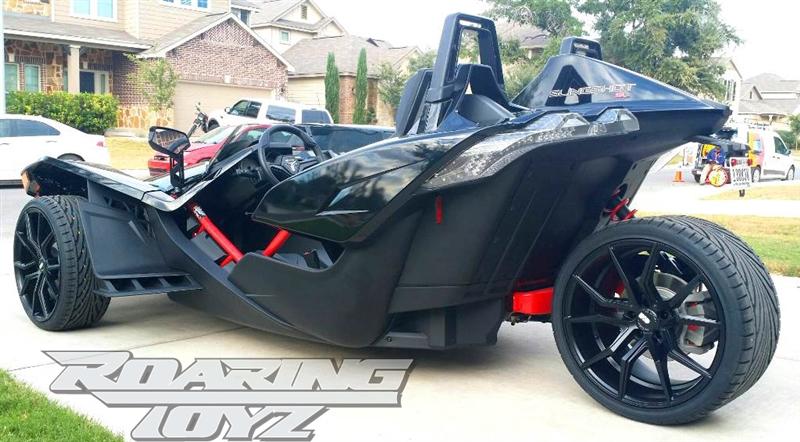 Custom Wheels For Polaris Slingshot 20 Inch Front 22 Inch