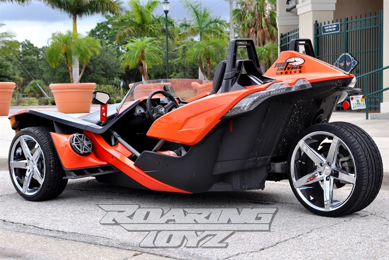 22 Inch Rim And Tire Package >> Custom Chrome Wheels for Polaris Slingshot 20 Inch Front ...