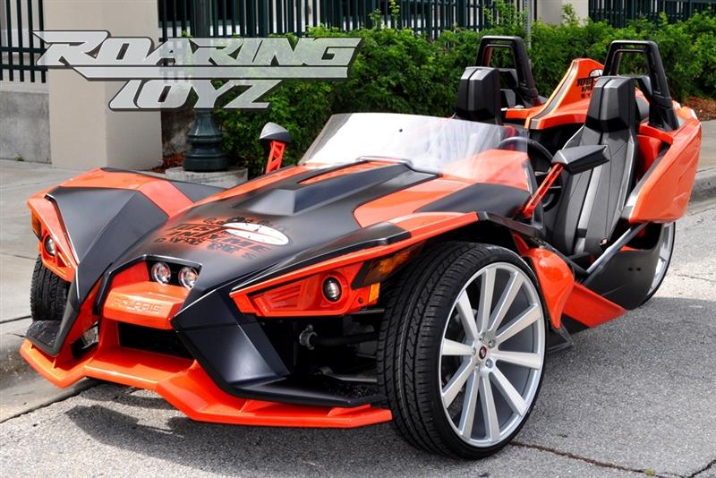 Custom Wheels For Polaris Slingshot 24 Inch Front 24 Inch