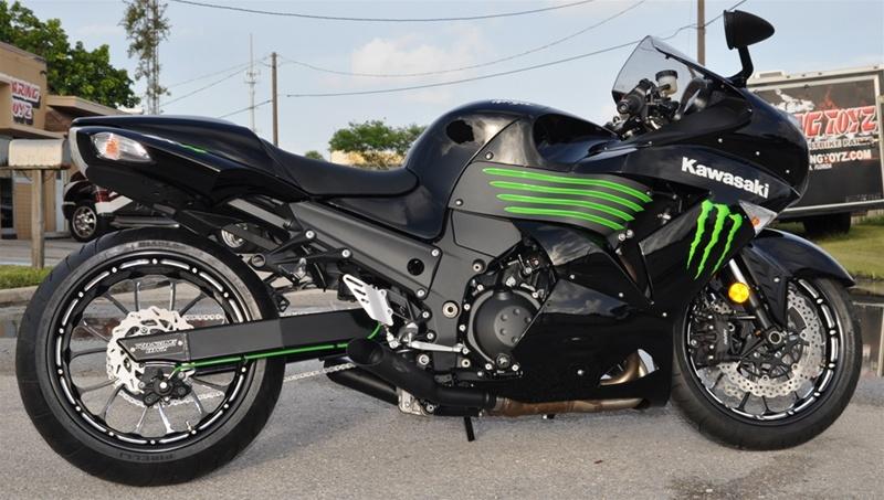 Kawasaki Ninja  Sprockets Specs