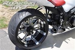 Roaring Toyz Billet Single Sided Swingarm Wide Tire 240